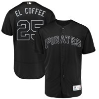 "Gregory Polanco ""El Coffee"" Pittsburgh Pirates Majestic 2019 Players' Weekend Authentic Player Jersey - Black"