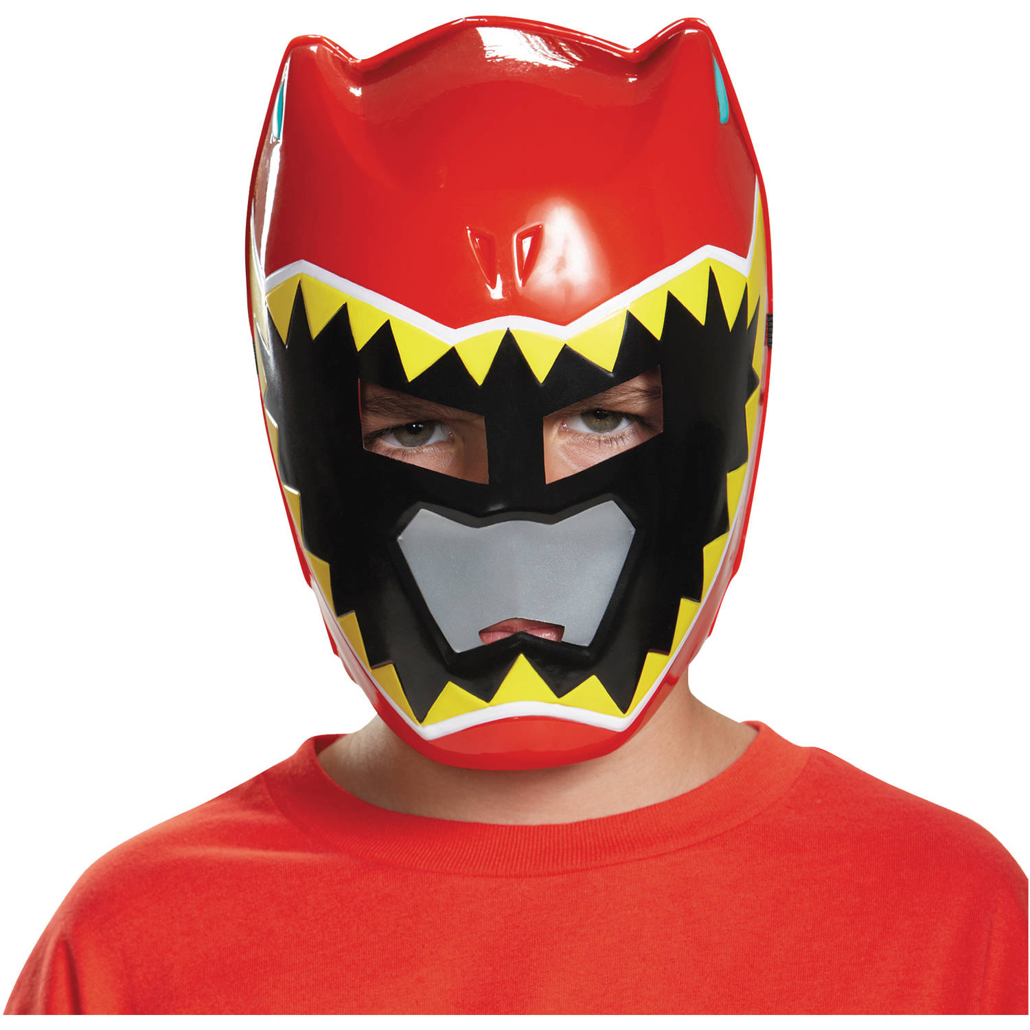 Red Ranger Dino Charge Mask Child Halloween Accessory