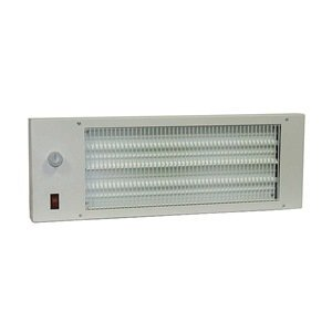 170W Electric Space Heater, Radiant Heat Panel, 120V
