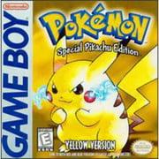 Pokemon Yellow Pikachu Edition Game Boy