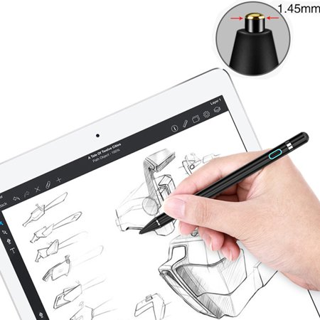 Tablet Pen Pencil New Stylus Capacity Touch Pencil Active Capacitive Ultra-fine High-precision Painting Pen Phone Tablet Android Universal Capacitor - image 4 de 7
