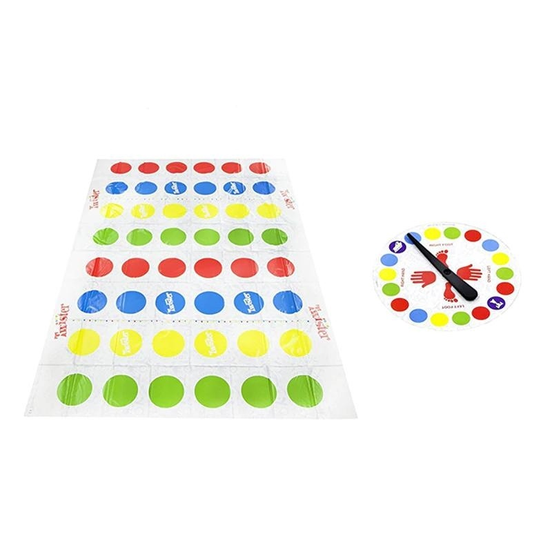 Fashion Twister Game Family Outdoor Funny Moves Sports PVC Play Mat Multi-player