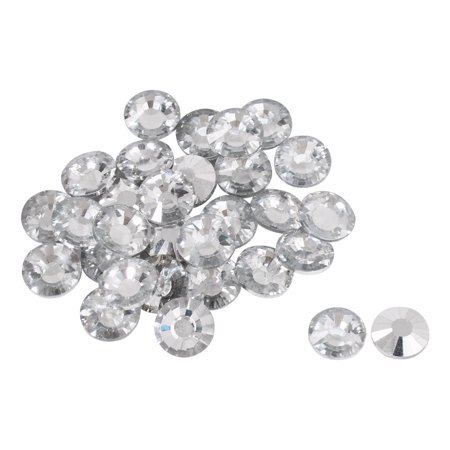 Furniture Tack Nails Glass Round Shape DIY Sofa Headboard Decorative 14mm 30pcs - image 7 of 7