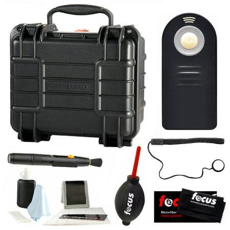 Vanguard Supreme 27F Waterproof Hard Case with Foam & Photo Accessories Bundle