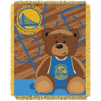 Golden State Warriors The Northwest Company 36'' x 46'' Baby Jaquard Throw - No Size