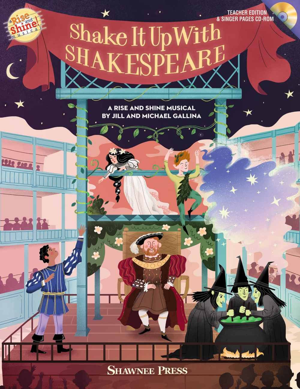 Shawnee Press Shake It Up with Shakespeare (A Rise and Shine Musical) Composed by Jill... by Shawnee Press