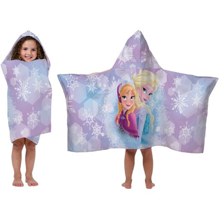 Disney Frozen Hooded Bath Towel, Blue