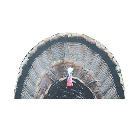 Turkey Fan Blind Decoy For Shotgun and Bow Hunting Season