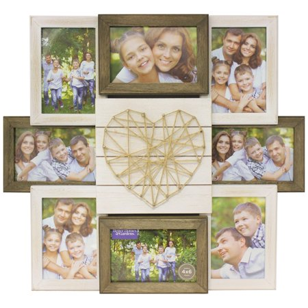 Better Homes Gardens 1799 X 197 X 2008 String Rustic 8 Openings Collage Frame