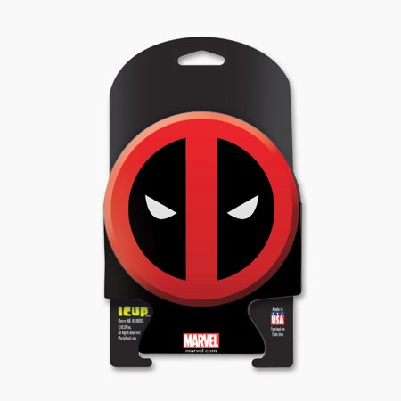 Can Huggers - Marvel - Deadpool Icon Diecut Can Cooler Licensed New 16366