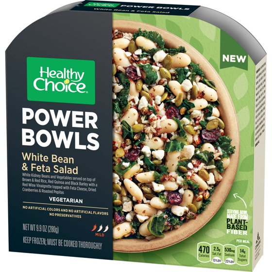 Healthy Choice Power Bowls White Bean Feta Salad 99 Ounce