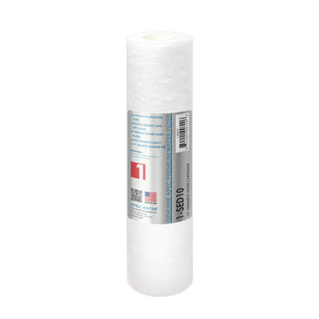 "APEC 5 Micron 10"" x 2.5"" Sediment Water Filter For Reverse Osmosis System"