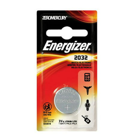 6 Pack Energizer CR2032 Lithium Battery 3V Coin Cell
