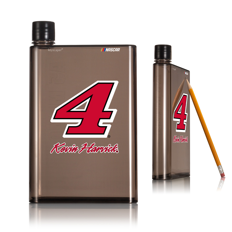 Kevin Harvick 4 14oz A5 Smoke Flat Water Bottle