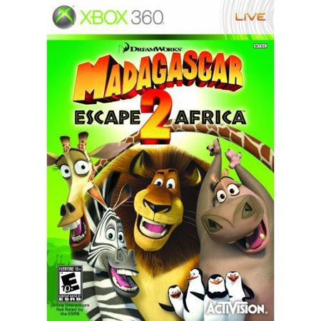 Activision 400455 Madagascar 2: Escape 2 Africa (Xbox 360)