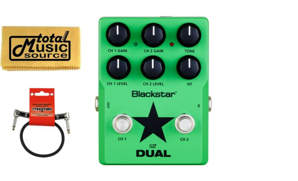 Blackstar LT Dual Gain Valve Distortion Guitar Effects Pedal, FREE Cable LTDS2 by Blackstar