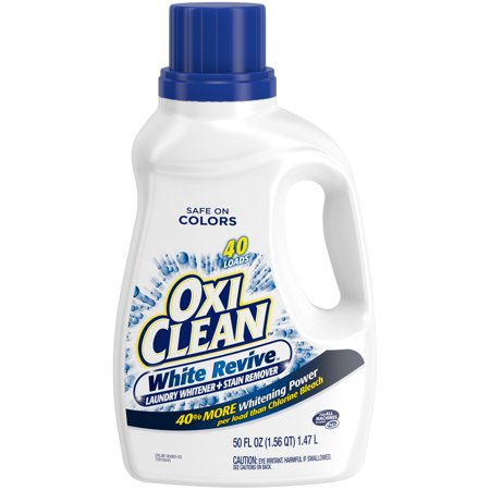 OxiClean White Revive Liquid Laundry Whitener + Stain Remover, - Liquid Stain Remover