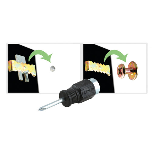 Hangman 60sk-hh 60-Second Hanging Kit with Handy Hammer