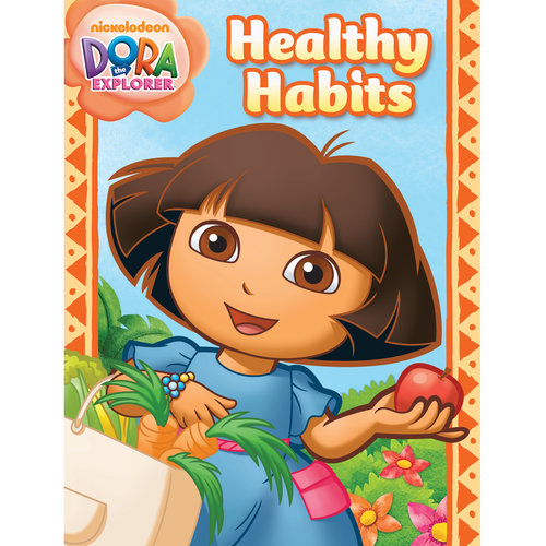Dora Healthy Habits Workbook by Generic