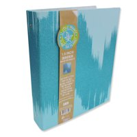 U Style Glitter Splash 3 Ring Paper Binder, 1.5 inch