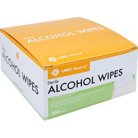 UEC Medical Wipes 200 ct (Alcohol Antiseptic)