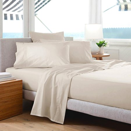1500 Series Premium Solid 4 Piece Bed Sheet Set