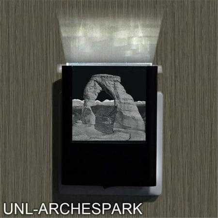 Uniqia UNLG0240 Night Light - Arches National Park Laser