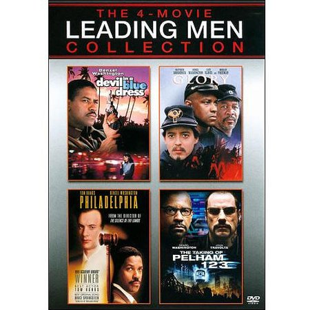 Leading Men Collection  Devil In A Blue Dress   Glory   Philadelphia   The Taking Of Pelham 1 2 3  2009   With Instawatch   Anamorphic Widescreen