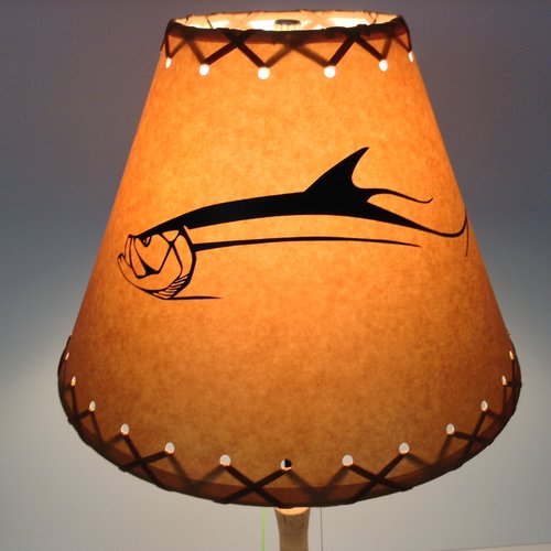 Millwood Pines Tarpon 9'' Paper Empire Lamp Shade