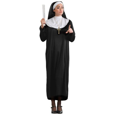 Nun Adult Costume - Plus Size