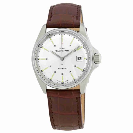 Combat 6 Classic Automatic Silver Dial Mens Watch GL0112