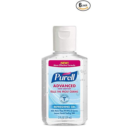 (Pack of 12) PURELL Advanced Refreshing Gel Hand Sanitizer, 2 Oz