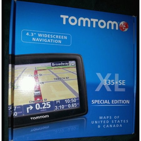 Tomtom 335se Xl Special Edition 4.3 Widescreen Navigation
