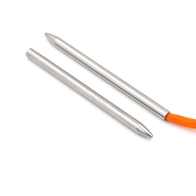 Stainless Steel 550 Paracord Bracelet Lacing Weaving Stitching Needle Fid #N1