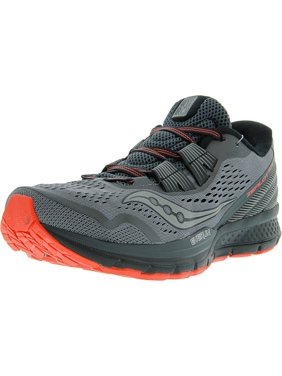 separation shoes 1357b a7457 Product Image Saucony Women s Zealot Iso 3 Grey   Black Coral Ankle-High  Running Shoe - 9M