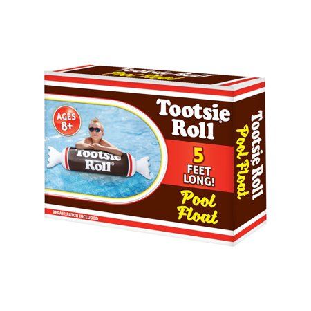 Playtek Tootsie Roll Noodle Pool Float TR8018 (Tootsie Roll Costume Kids)