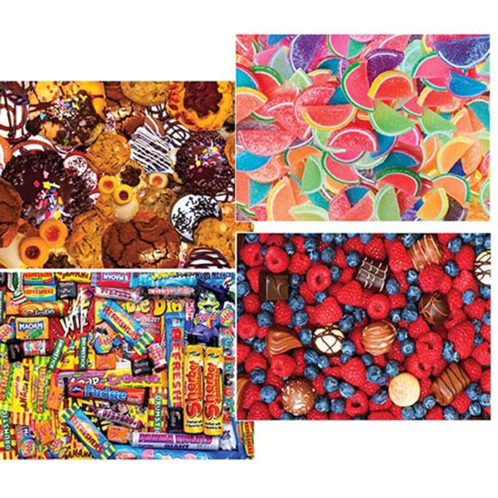Masterpieces Puzzle Co Sweet Shoppe II Puzzle Assortment Jigsaw Puzzle