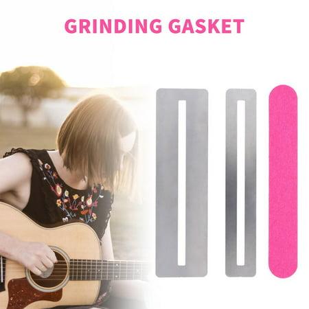 Guitar Fret Repairing Tool Set Fretboard Guard ProtectIve Shim & Fretwire File - image 9 of 9
