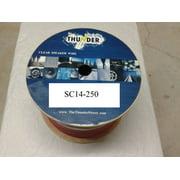 Avox SC14250 Clear Speaker Wire 14ga 250ft