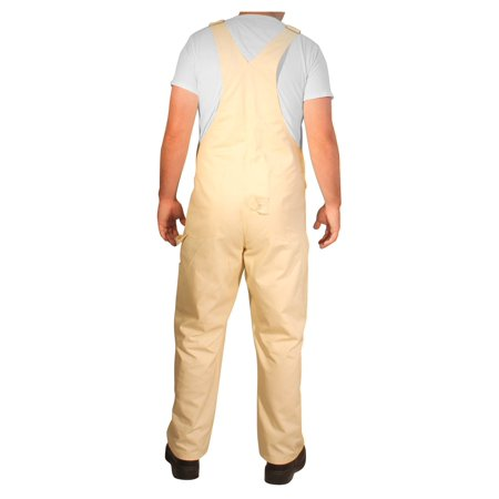 Best Rugged Blue Painter Bib Overalls - Natural - 36x32 deal