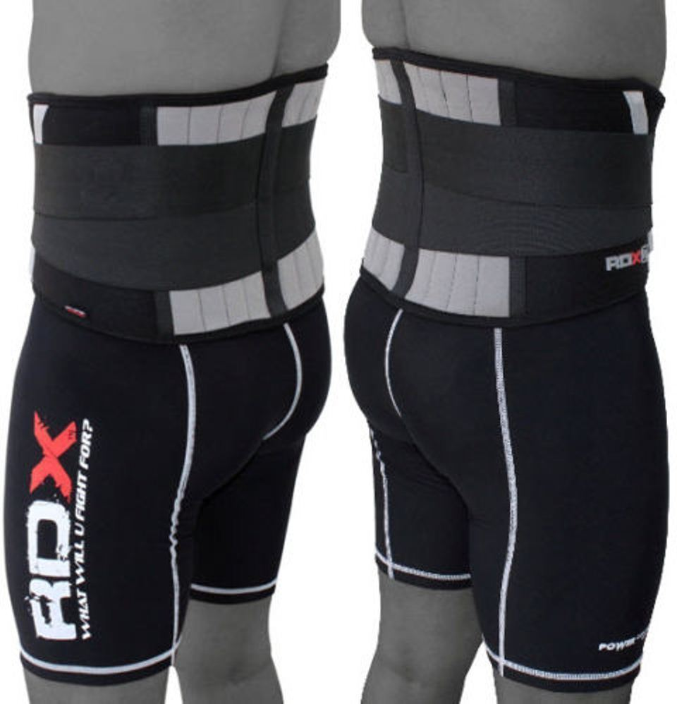 RDX Weight Lifting Belt Gym Fitness Strength Training Padded Lumbar Back Support
