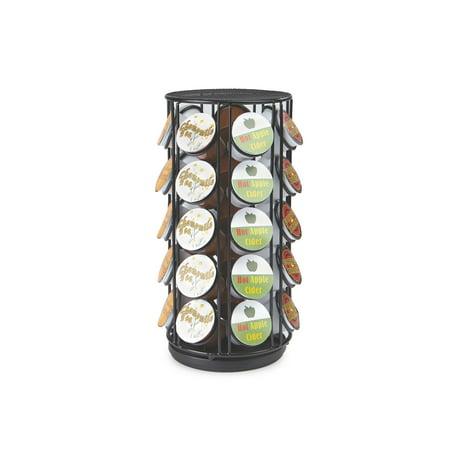 - Mind Reader 35 Capacity Rotating Metal K-Cup Carousel, Black