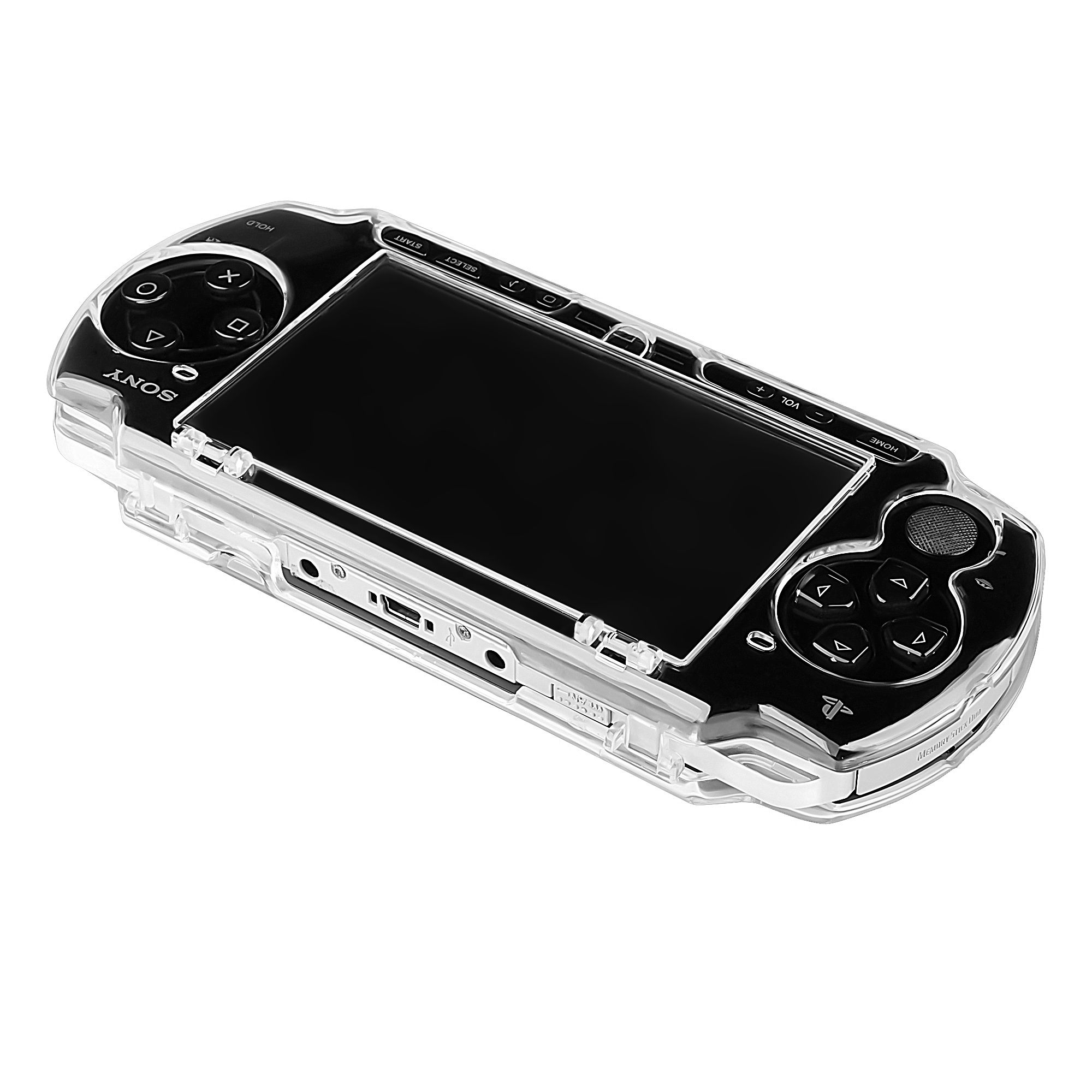 Insten Snap-on Crystal Clear Hard Case Cover For Sony PSP 2000 3000
