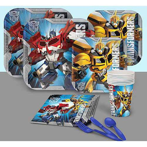 Transformers Party Pack](Transformers Party Decorations)
