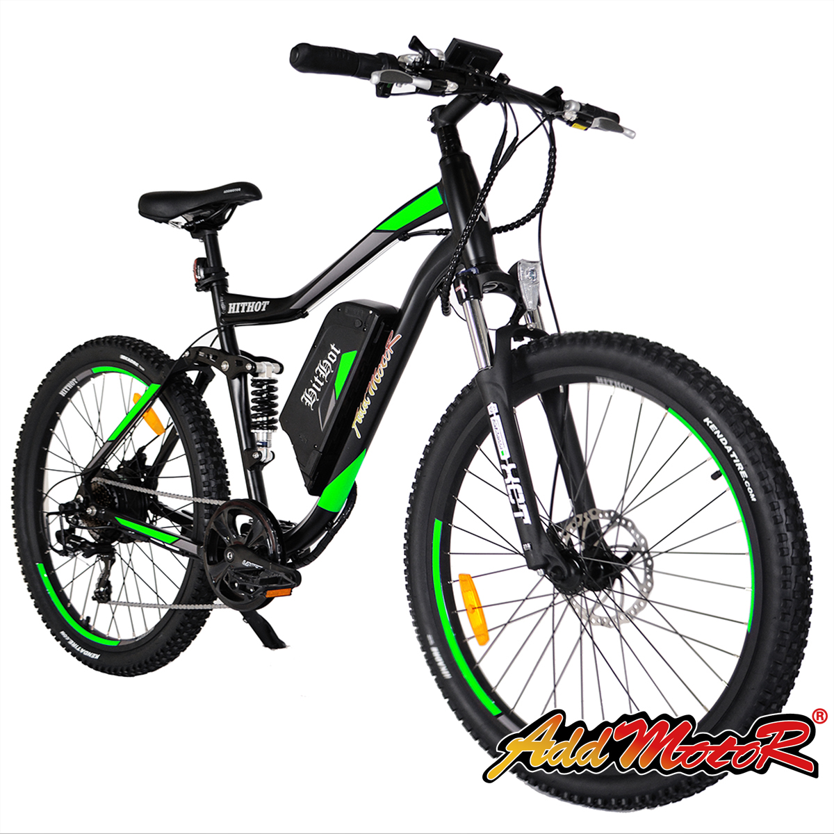 Addmotor HITHOT Electric Bicycle 48V 500W Motor 10.4 AH Electric Bikes H1 Sport Bike Mountain E-bike 2018 For Adults