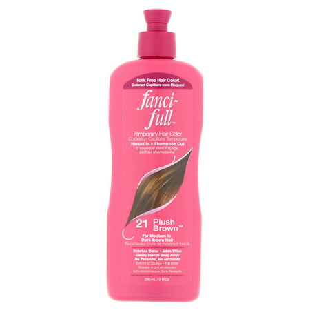 Fancifull 21 Plush Brown Temporary Hair Color, 9 fl oz (Best Temporary Hair Color Halloween)