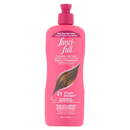 Fancifull 21 Plush Brown Temporary Hair Color, 9 fl oz - Hair Dye Temporary Halloween