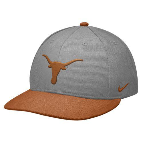 Nike Texas Longhorns Elite 643 Fitted Flat Bill Hat