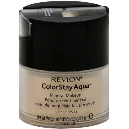 Revlon Colorstay Aqua Mineral Makeup, Light Medium 0.35 oz (Pack of 6)