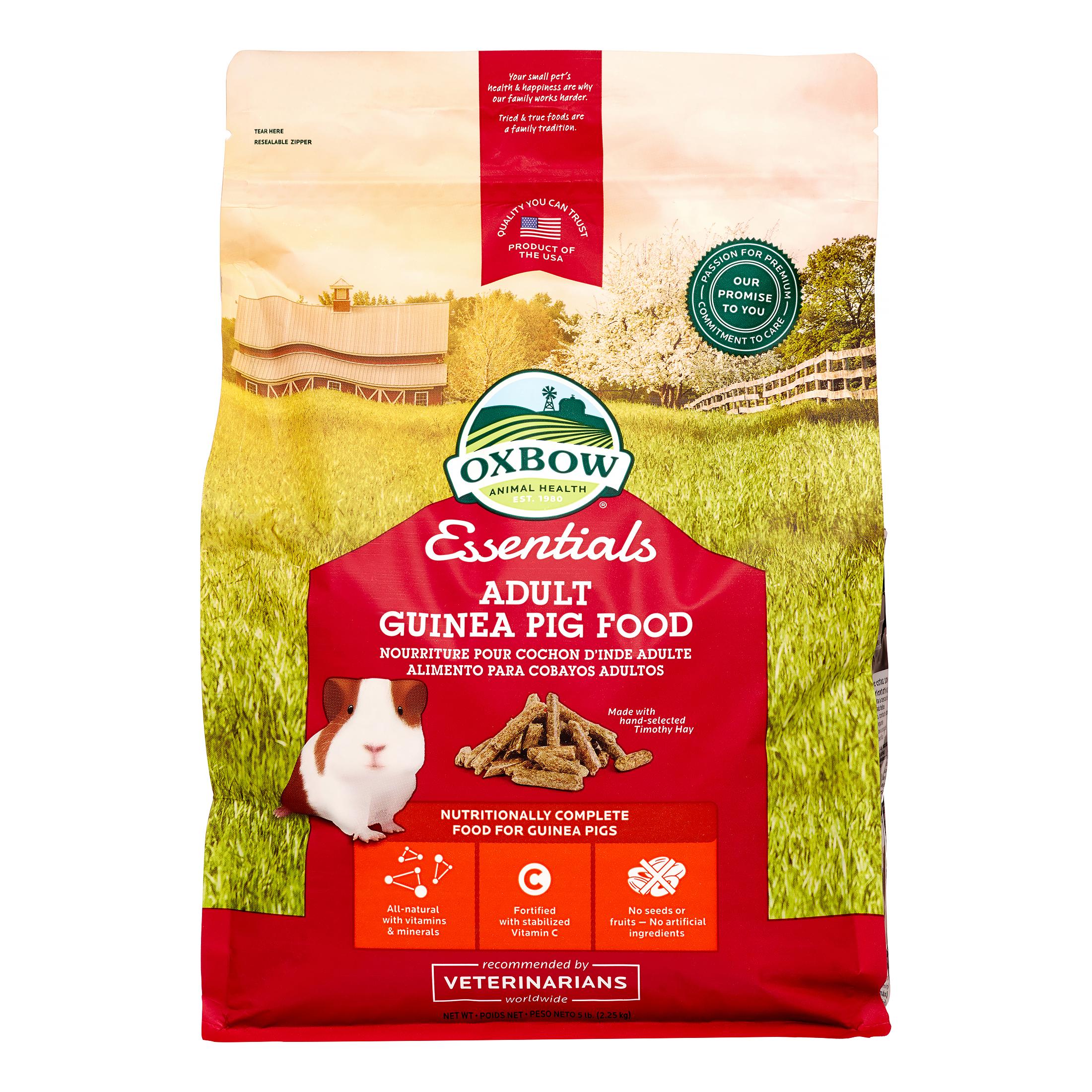 Oxbow Essentials Cavy Cuisine Adult Guinea Pig Dry Food, 5 lbs.